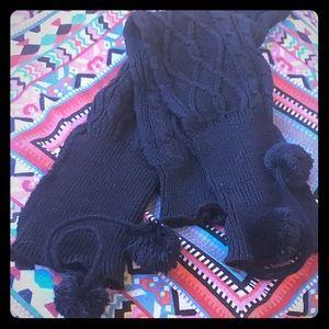 Black Leg Warmers NWOT